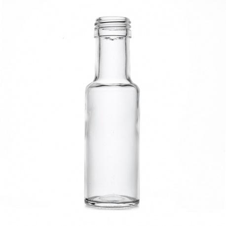 Boca staklena Spirit svijetla okrugla 125 ml