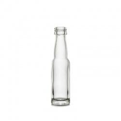 Boca staklena Spirit svijetla okrugla 40 ml