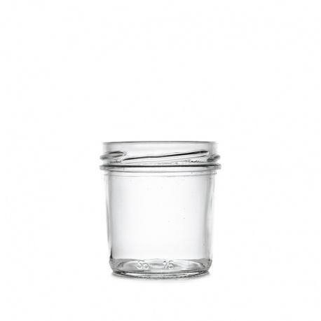 Teglica staklena kaviar 120 ml, TO 63
