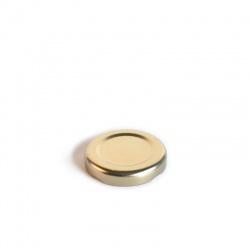 Poklopac za teglicu TO 43 RTB bijeli/zlatni