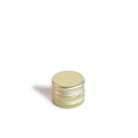 Zatvarač metalni 31 x 18 gold s navojem
