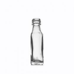 Boca staklena Spirit svijetla četvrtasta 20 ml