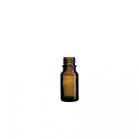 Boca staklena kapalica tamna 10 ml