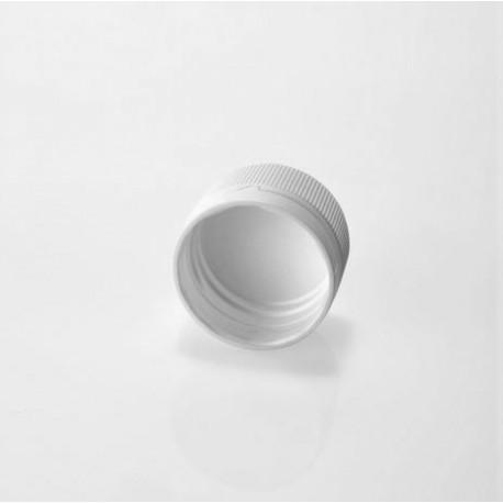Zatvarač za sirup bocu PP 28, bijeli, sig.prsten, liner (brtva)
