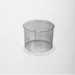 Čašica za doziranje, prozirna, 2,5-20 ml