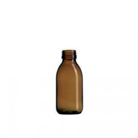 Boca staklena sirup tamna 125 ml