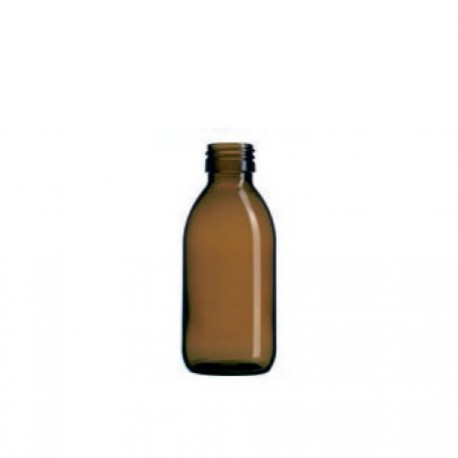 Boca staklena sirup tamna 150 ml