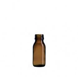 Boca staklena sirup tamna 60 ml