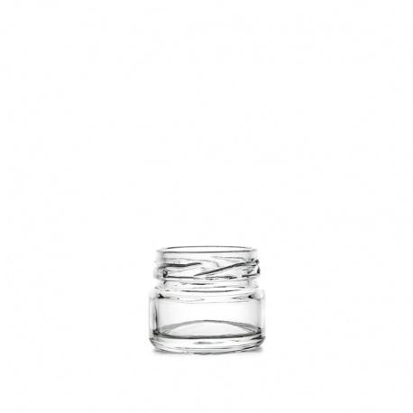 Teglica staklena Mini gastro 25 ml, TO 43