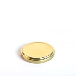 Poklopac za teglicu TO 63 bijeli/zlatni