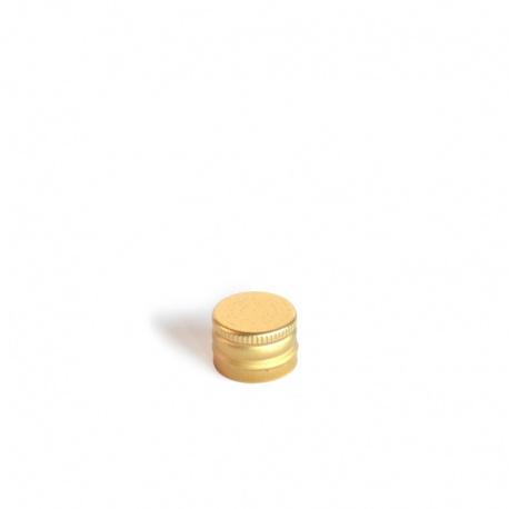 Zatvarač metalni s navojem 22 zlatni