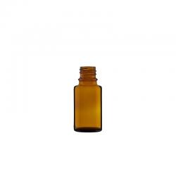 Boca staklena kapalica tamna 15 ml
