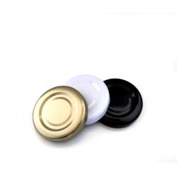 Poklopac za teglicu TO 43 RTB bijeli/zlatni/crni